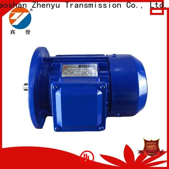 Zhenyu threephase ac electric motors free design for machine tool