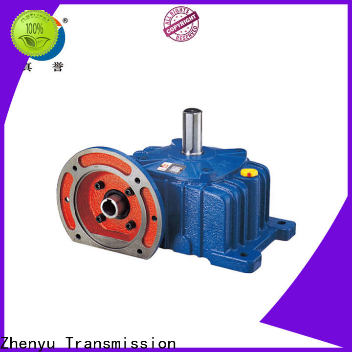 Zhenyu high-energy electric motor speed reducer widely-use for wind turbines