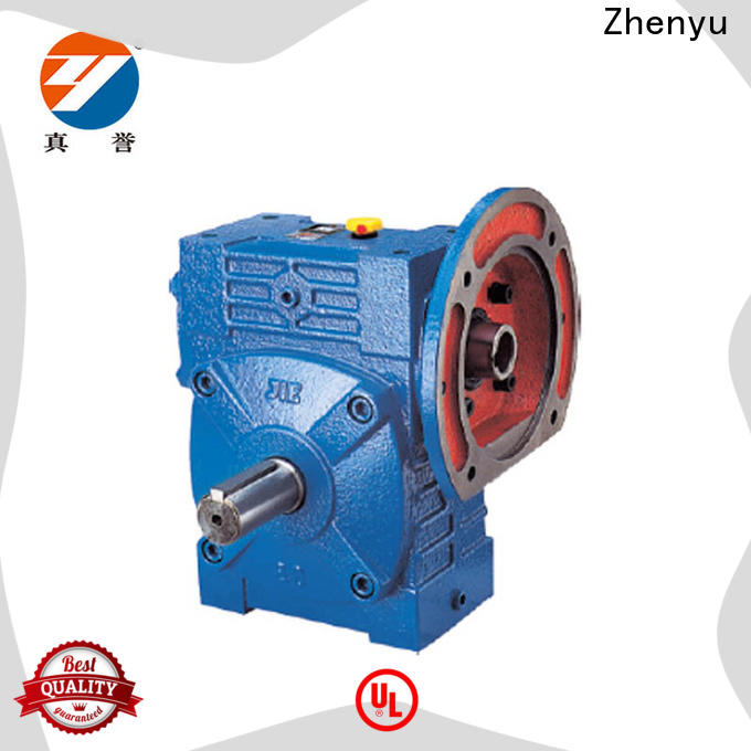 Zhenyu fine- quality inline gear reducer long-term-use for construction