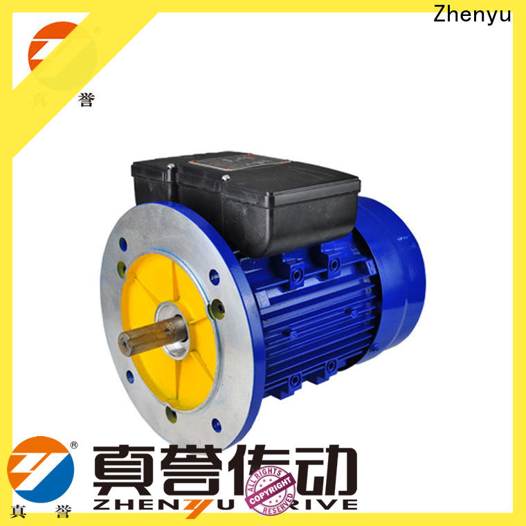 Zhenyu newly single phase electric motor check now for textile,printing