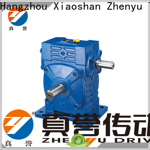 Zhenyu wpo reduction gear box widely-use for chemical steel