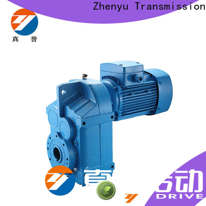 Zhenyu first-rate inline gear reduction box free design for wind turbines