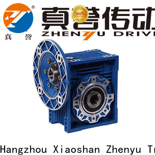 Zhenyu newly worm gear reducer order now for chemical steel