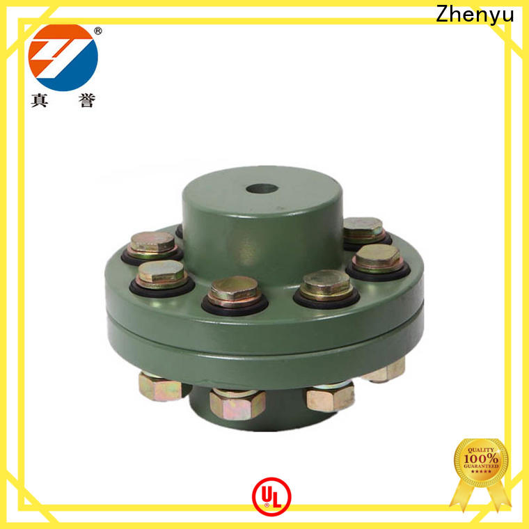 Zhenyu motor flexible gear coupling buy now for construction