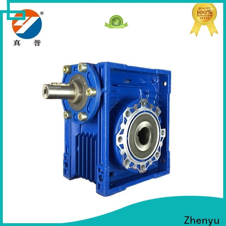 Zhenyu hot-sale inline gear reduction box free quote for metallurgical