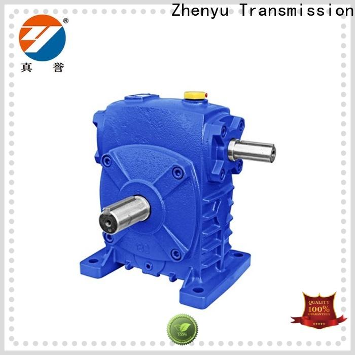Zhenyu mounted planetary gear box free quote for chemical steel