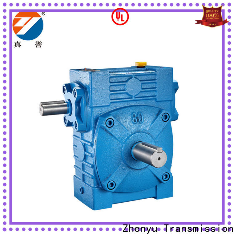 Zhenyu new-arrival worm gear reducer free quote for metallurgical