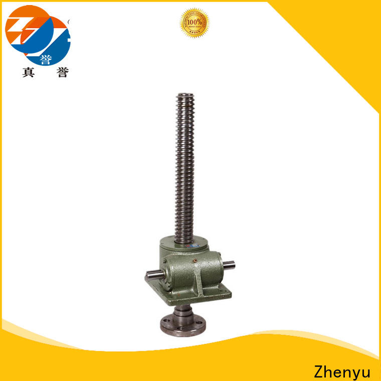 Zhenyu compact design electric screw jack wholesale for lifting