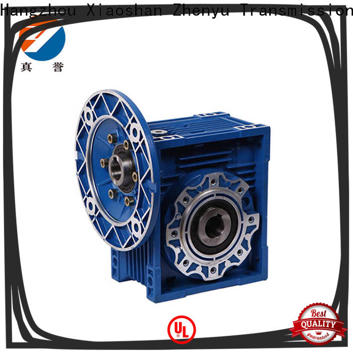 Zhenyu high-energy worm gear reducer free design for chemical steel