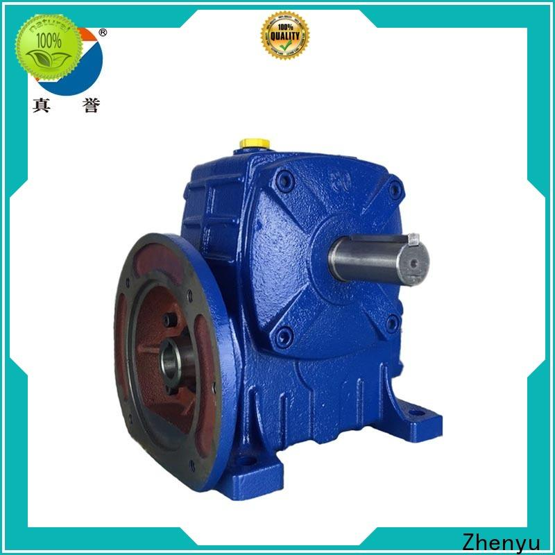 Zhenyu green electric motor gearbox China supplier for mining
