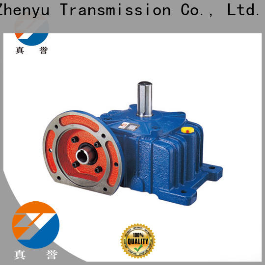 Zhenyu high-energy drill speed reducer certifications for chemical steel