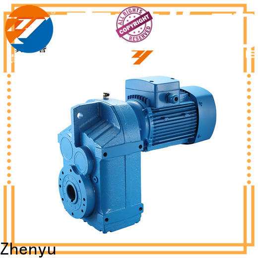 Zhenyu helical speed reducer for electric motor long-term-use for light industry