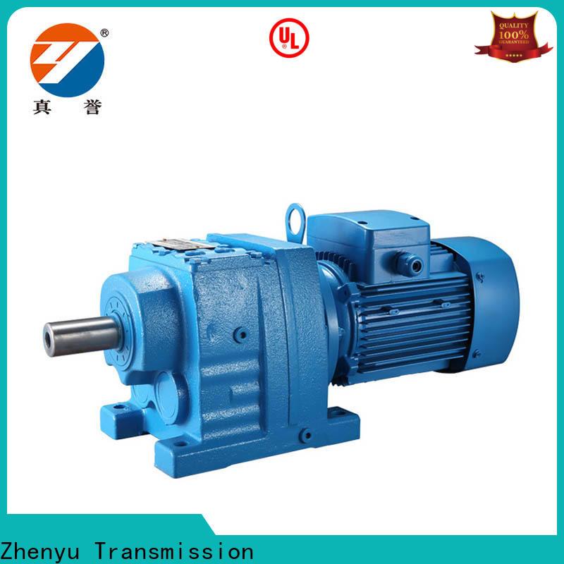 Zhenyu gear reduction gear box for construction