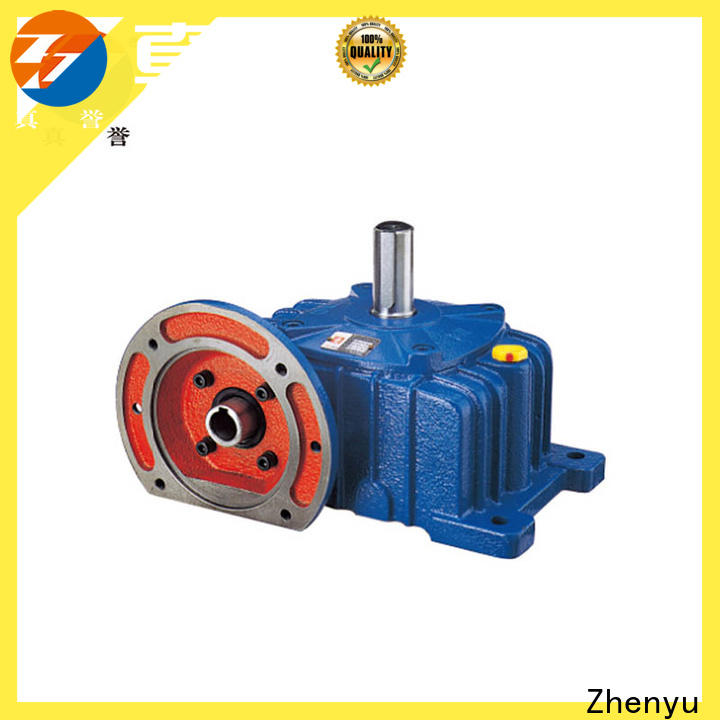 Zhenyu newly sewing machine speed reducer free design for cement