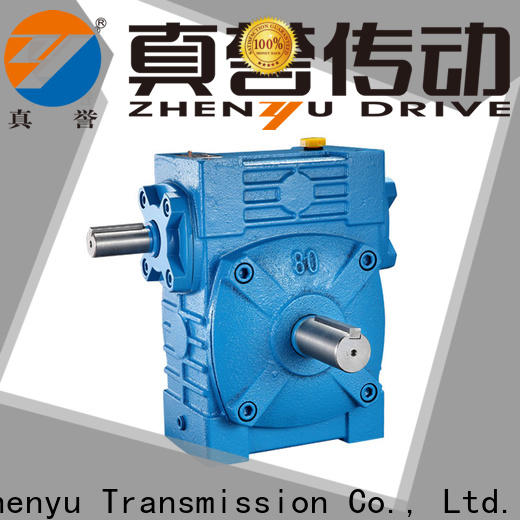 Zhenyu alloy transmission gearbox free design for metallurgical
