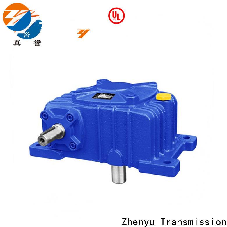 Zhenyu shape inline gear reduction box for lifting