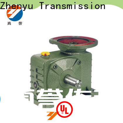 Zhenyu reduction gear box certifications for light industry