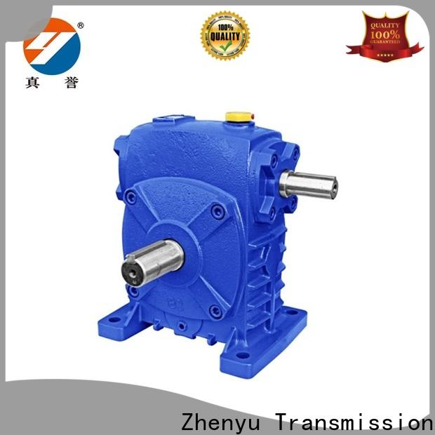 Zhenyu wpo worm gear reducer free design for printing