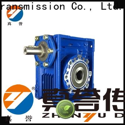 Zhenyu nmrv worm drive gearbox order now for construction