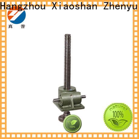 Zhenyu jack types of screw jack for machinery