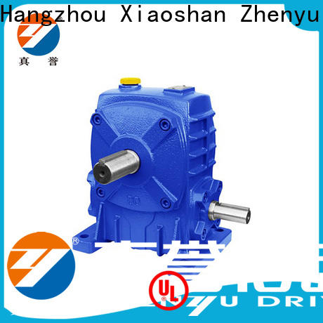 Zhenyu first-rate variable speed gearbox free quote for wind turbines
