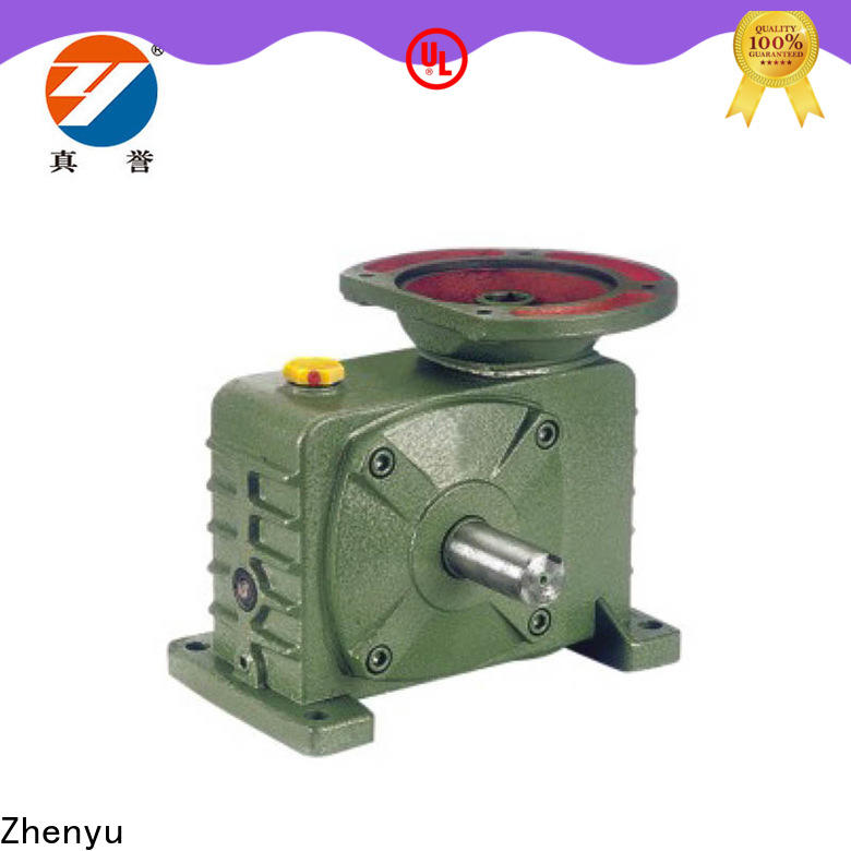 Zhenyu price speed reducer order now for chemical steel