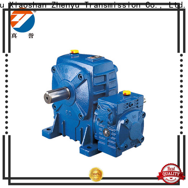 Zhenyu speed reducer motor free quote for cement
