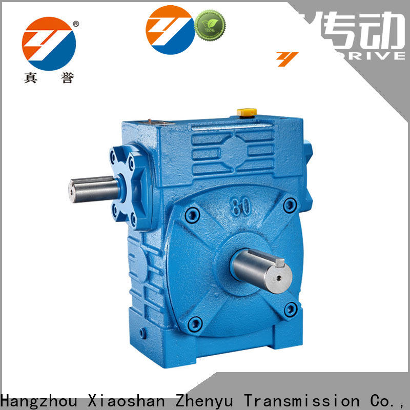 fine- quality worm gear reducer reduction free design for light industry