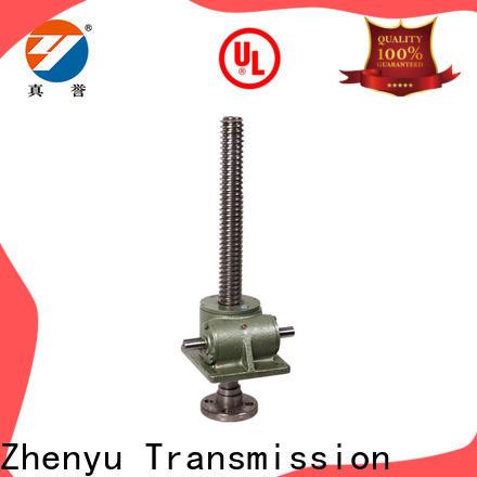 Zhenyu wheel machine screw jack for transportation