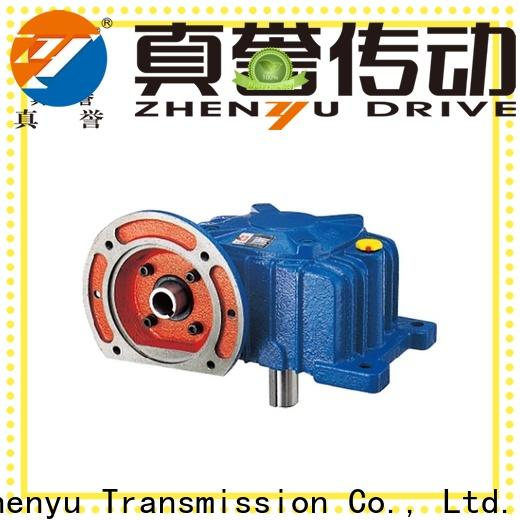 Zhenyu inline planetary reducer certifications for chemical steel