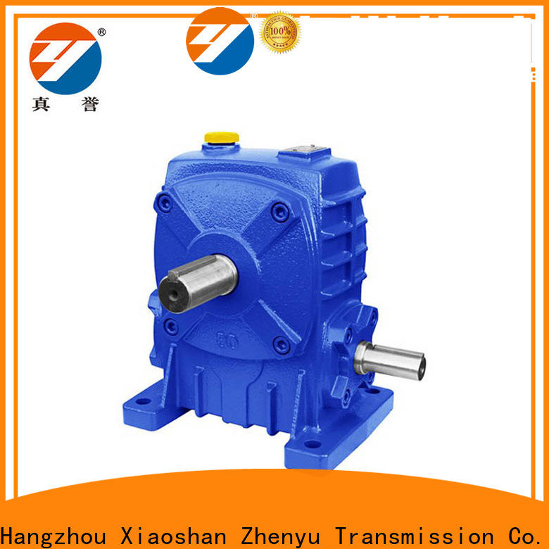 Zhenyu transmission gearbox free quote for light industry