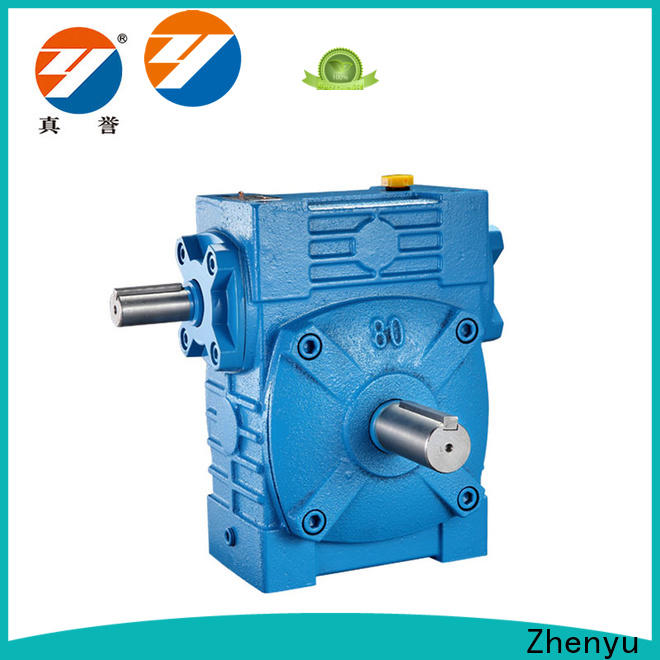 Zhenyu first-rate worm drive gearbox order now for light industry