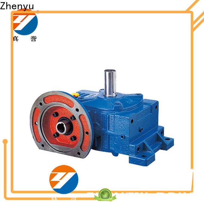Zhenyu wpds worm gear speed reducer widely-use for construction