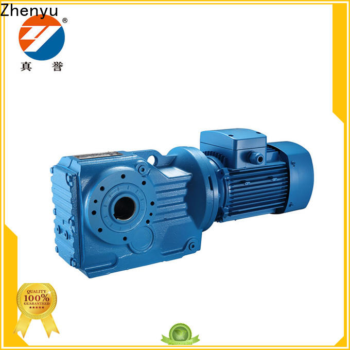 Zhenyu reverse speed reducer motor order now for cement