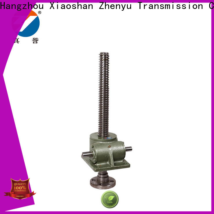 manual electric screw jack screw producer for mining