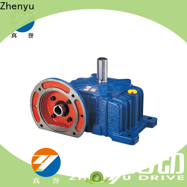 Zhenyu green gear reducers widely-use for wind turbines